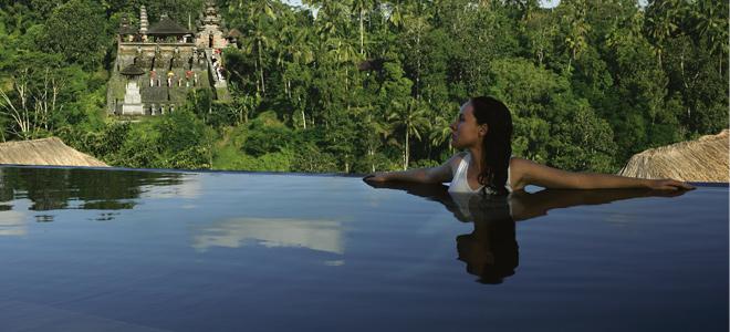 Ubud hanging gardens bali honeymoon packages honeymoon dreams honeymoon dreams for Ubud hanging gardens swimming pool price