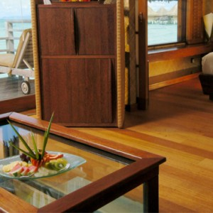 9 End Of Pontoon Horizon Overwater Villa - Intercontinental Bora Bora Le Moana Resort - Luxury Bora Bora Honeymoon Packages