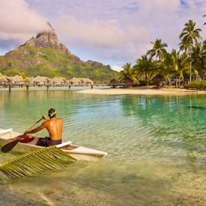Beach 2 - InterContinental Bora Bora Resort and Thalasso Spa - Luxury Bora Bora honeymoon Packages
