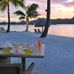 Beach 3 - InterContinental Bora Bora Resort and Thalasso Spa - Luxury Bora Bora honeymoon Packages