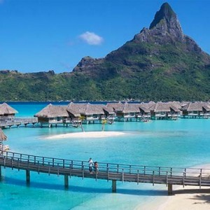 Beach - InterContinental Bora Bora Resort and Thalasso Spa - Luxury Bora Bora honeymoon Packages