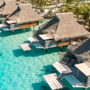 King Deluxe Over water Villa - Conrad Bora Bora Nui Resort - Luxury Bora Bora Honeymoon Packages