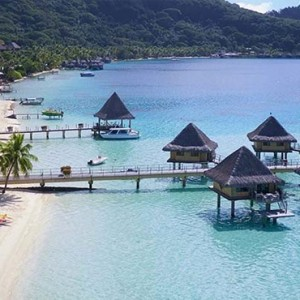 Poevai Overwater Suite 10 - Intercontinental Bora Bora Le Moana Resort - Luxury Bora Bora Honeymoon Packages