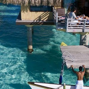 Poevai Overwater Suite 5 - Intercontinental Bora Bora Le Moana Resort - Luxury Bora Bora Honeymoon Packages