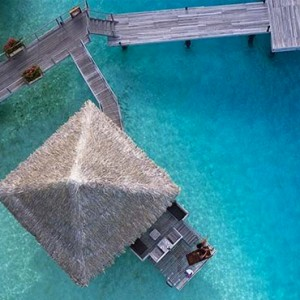 Poevai Overwater Suite 9 - Intercontinental Bora Bora Le Moana Resort - Luxury Bora Bora Honeymoon Packages