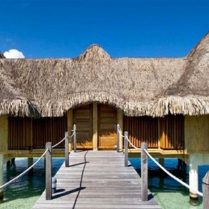 Poevai Overwater Suite - Intercontinental Bora Bora Le Moana Resort - Luxury Bora Bora Honeymoon Packages