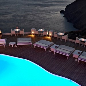 Pool 5 - sun Rocks Hotel Santorini - luxury santorini honeymoon packages