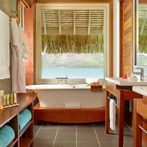 Pool Premium Overwater Villa 6 - InterContinental Bora Bora Resort and Thalasso Spa - Luxury Bora Bora honeymoon Packages