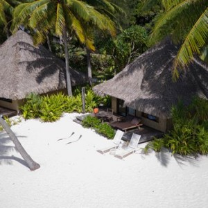 beach villas - Intercontinental Bora Bora Le Moana Resort - Luxury Bora Bora Honeymoon Packages