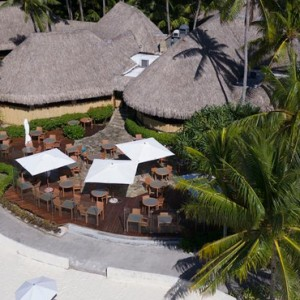 dining 2 - Intercontinental Bora Bora Le Moana Resort - Luxury Bora Bora Honeymoon Packages