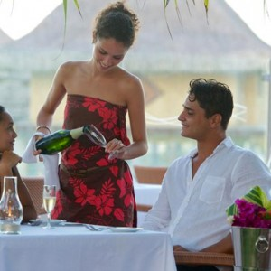 dining 3 - Intercontinental Bora Bora Le Moana Resort - Luxury Bora Bora Honeymoon Packages