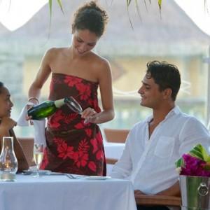 dining 3 - Intercontinental Bora Bora Le Moana Resort - Luxury Bora Bora Honeymoon Packages