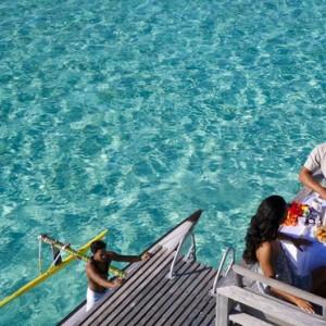 dining 4 - Intercontinental Bora Bora Le Moana Resort - Luxury Bora Bora Honeymoon Packages