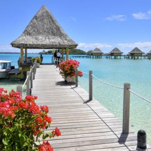 exterior 2 - Intercontinental Bora Bora Le Moana Resort - Luxury Bora Bora Honeymoon Packages