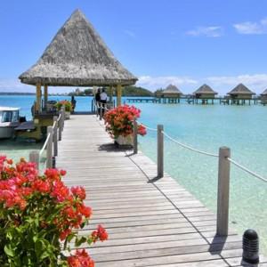 exterior 2 - Intercontinental Bora Bora Le Moana Resort - Luxury Bora Bora Honeymoon Packages