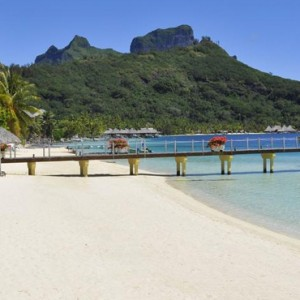 exterior 3 - Intercontinental Bora Bora Le Moana Resort - Luxury Bora Bora Honeymoon Packages
