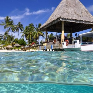exterior - Intercontinental Bora Bora Le Moana Resort - Luxury Bora Bora Honeymoon Packages