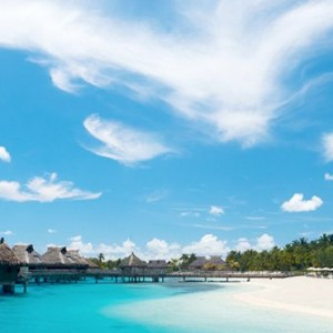 overwater villas ---Conrad-Bora-Bora-Nui-Resort---Luxury-Bora-Bora-Honeymoon-Packages-