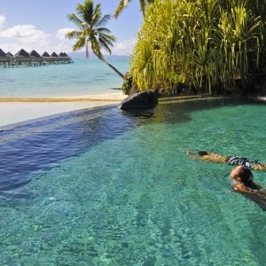 pool - Intercontinental Bora Bora Le Moana Resort - Luxury Bora Bora Honeymoon Packages