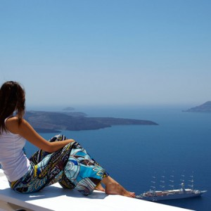 views - sun Rocks Hotel Santorini - luxury santorini honeymoon packages