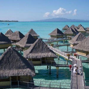villas - Intercontinental Bora Bora Le Moana Resort - Luxury Bora Bora Honeymoon Packages