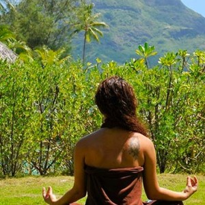 yoga - InterContinental Bora Bora Resort and Thalasso Spa - Luxury Bora Bora honeymoon Packages