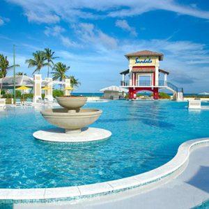 Bahamas Honeymoon Packages Sandals Emerald Bay Pool 2