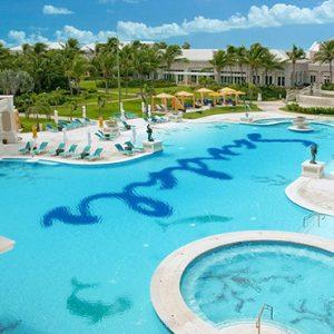 Bahamas Honeymoon Packages Sandals Emerald Bay Pool 3