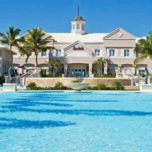 Bahamas Honeymoon Packages Sandals Emerald Bay Pool 4