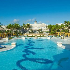 Bahamas Honeymoon Packages Sandals Emerald Bay Pool 5