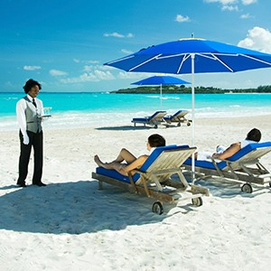 Butler Service - Sandals Emeral Bay Golf Tennis and Spa Resort - Luxury Bahamas Holidays