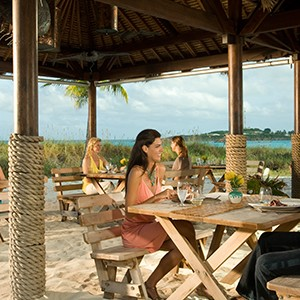 Dinner - Sandals Emeral Bay Golf Tennis and Spa Resort - Luxury Bahamas Holidays