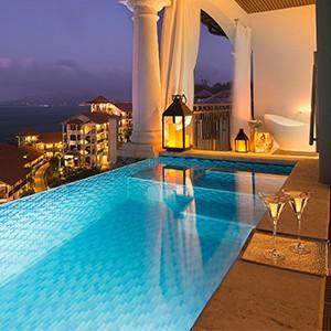 Pool Suite - Sandals LaSource Grenada - Luxury Grenada Honeymoons