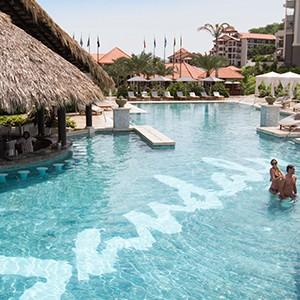 Pool Views - Sandals LaSource Grenada - Luxury Grenada Honeymoons