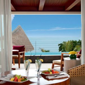 Mauritius Honeymoon Packages Angsana Balaclava Deluxe Pool Suite Partial Seaview