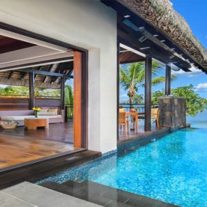 Mauritius Honeymoon Packages Angsana Balaclava Oceanfront Pool Suites