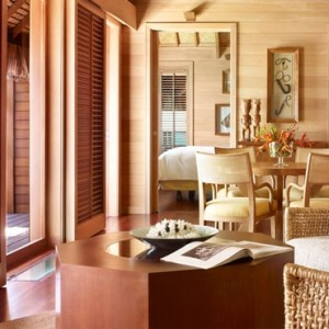2 One Bedroom Otemanu Overwater Bungalow Suite - Four Seasons Bora Bora - Luxury Bora Bora Honeymoon Packages