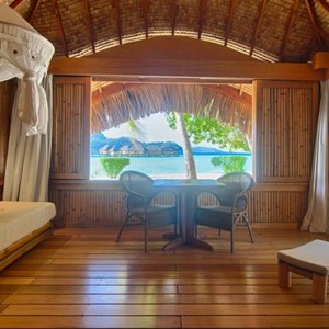 2 Otemanu View beach Suite with Jacuzzi - Bora Bora Pearl Beach Resort - Luxury Bora Bora Honeymoon Packages