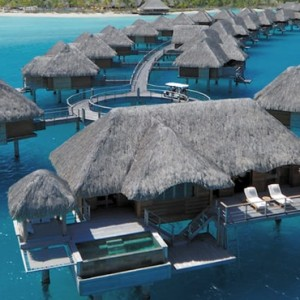 3 One Bedroom Otemanu Overwater Bungalow Suite - Four Seasons Bora Bora - Luxury Bora Bora Honeymoon Packages