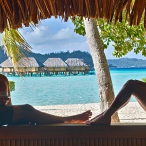 3 Otemanu View beach Suite with Jacuzzi - Bora Bora Pearl Beach Resort - Luxury Bora Bora Honeymoon Packages