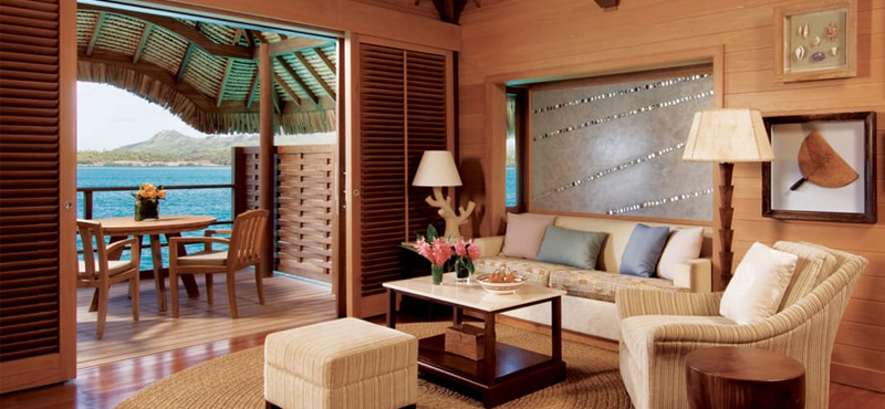 One Bedroom Beach View Overwater Bungalow Suite King Bed