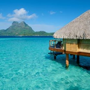 End Of Pontoon Overwater Suite 2 - Bora Bora Pearl Beach Resort - Luxury Bora Bora Honeymoon Packages