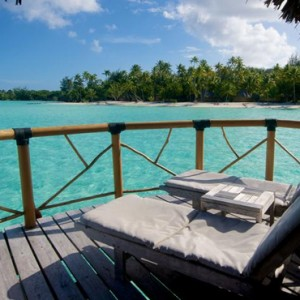 End Of Pontoon Overwater Suite 3 - Bora Bora Pearl Beach Resort - Luxury Bora Bora Honeymoon Packages