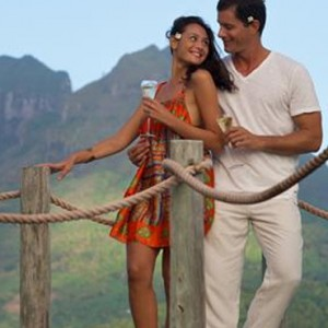 End Of Pontoon Overwater Suite 4 - Bora Bora Pearl Beach Resort - Luxury Bora Bora Honeymoon Packages