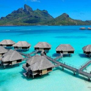 Exterior - Four Seasons Bora Bora - Luxury Bora Bora Honeymoon Packages