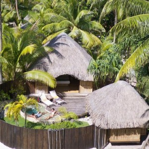 Garden Pool Villa 2 - Bora Bora Pearl Beach Resort - Luxury Bora Bora Honeymoon Packages