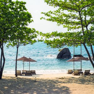 Thailand honeymoon Packages Silavadee Pool Spa Resort Beach 2