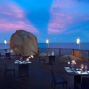 Thailand honeymoon Packages Silavadee Pool Spa Resort Sun Deck Restaurant 2