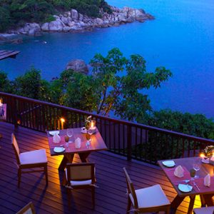Thailand honeymoon Packages Silavadee Pool Spa Resort The Height Restaurant 2