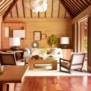 One Bedroom Beachfront Villa Estate - Four Seasons Bora Bora - Luxury Bora Bora Honeymoon Packages